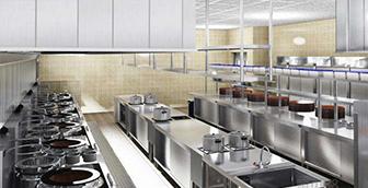 厨房工程设计的原则和布局形态