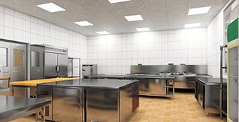 食堂厨房工程设备设计施工要点有哪些呢?
