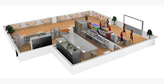 商用厨房设计-商用厨房设计要求及条件