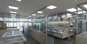 商用厨房设计要求及条件有哪些呢?