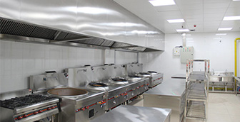 商用厨房需要哪些功能区域和厨房设备?