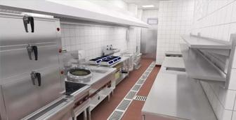 食堂厨房设备和学校食堂厨房设计规范要求