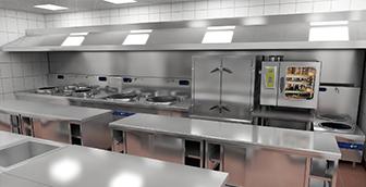 食堂厨房工程的排烟系统要设计要点是什么?