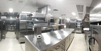 大型厨房内为什么会空气闷热和辣眼睛呢?