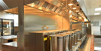如何合理设计酒店餐馆的厨房空间呢?