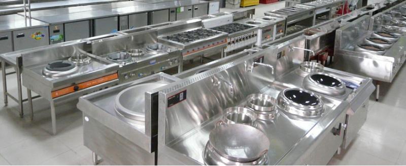加强餐饮市场健康安全,商用厨具设备必不可少