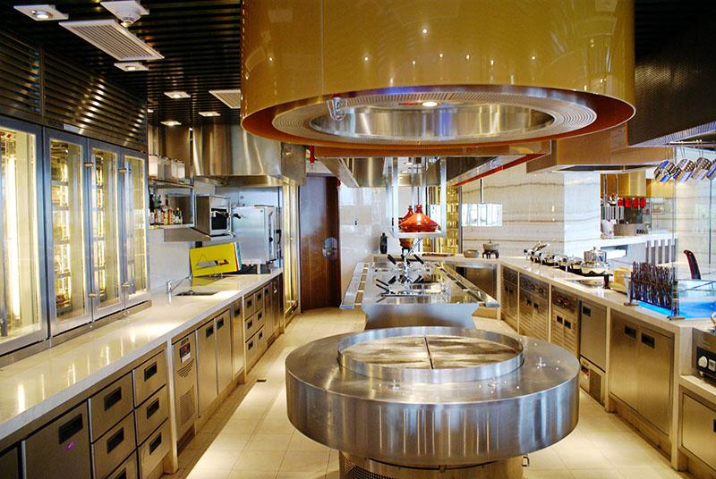 商用厨房工程设计中需要注意以下几项