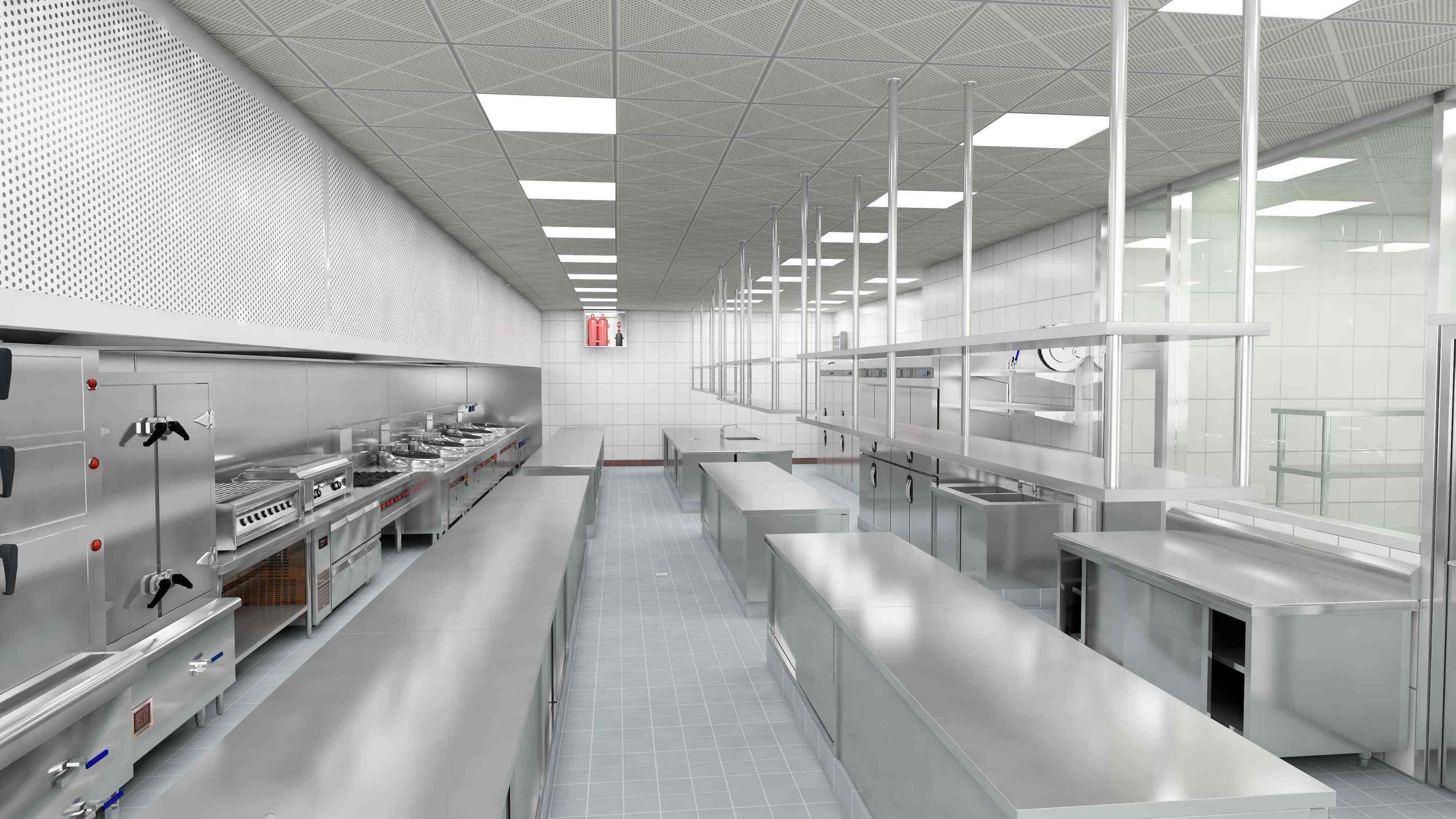 企业单位食堂厨房该如何设计?