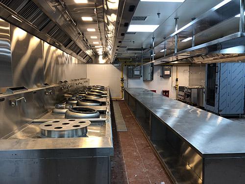 开餐厅须要哪些专业厨房设备