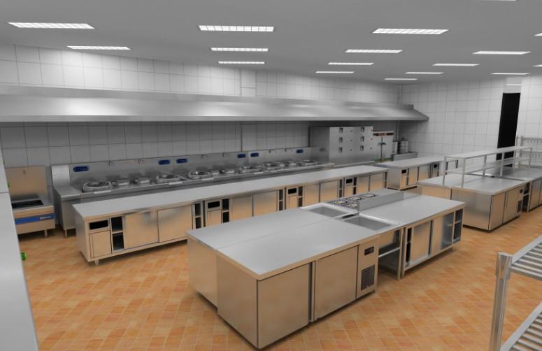 高档厨房工程案例如何设计?