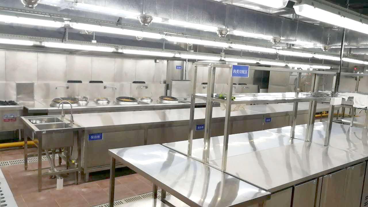 何如对商用厨房设备进行合理的筹备和构造