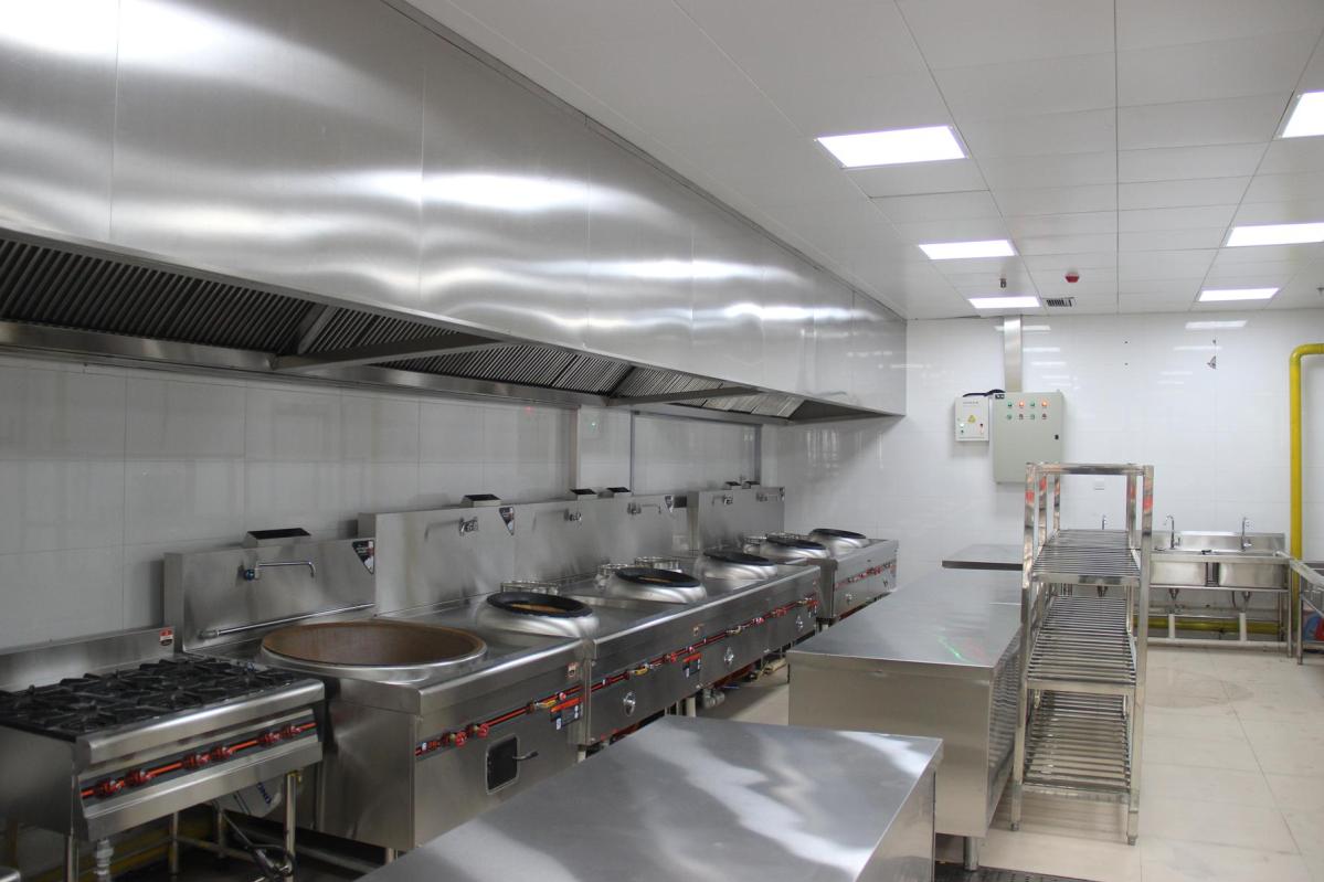 商用食堂厨房设备工程动工计划引荐