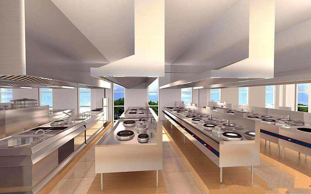 商用厨房工程设计步调的四个阶段