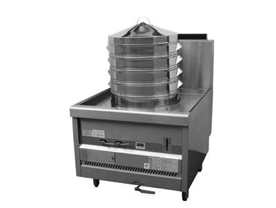 ECS-1C/ECS-2C单头蒸包炉